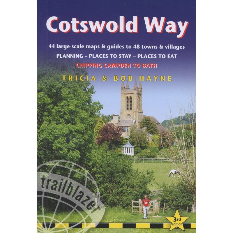 Cotswold Way: Chipping Campden to Bath by Trailblazer Guides