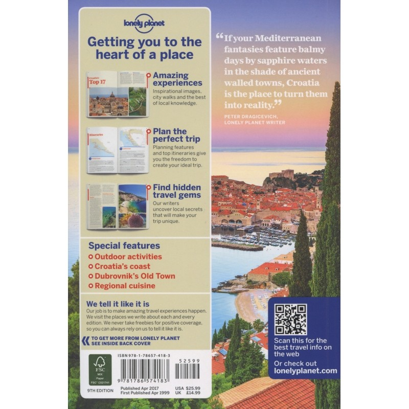 Croatia: Lonely Planet Travel Guide