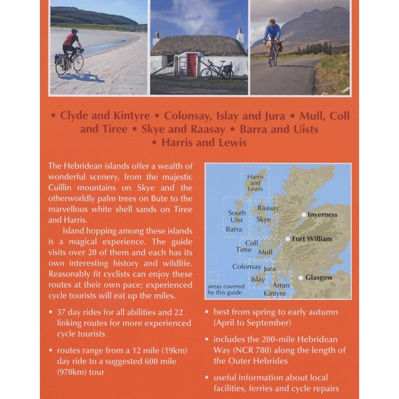 Cycling in the Hebrides: Island touring and day rides by Cicerone