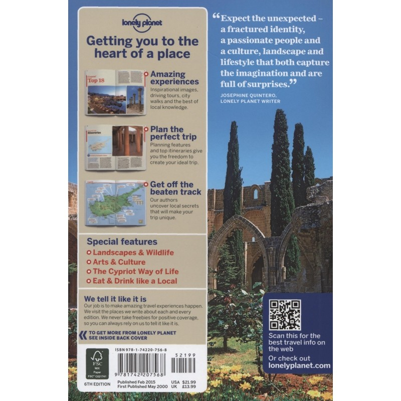 Cyprus by Lonely Planet