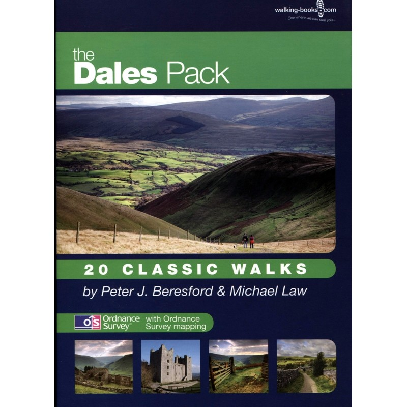 The Dales Pack: 20 Classic Walks by walking-books.com