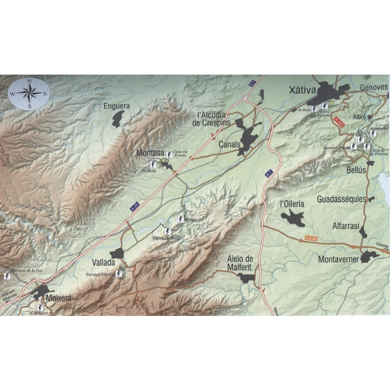 Guide to Climbing in L''Estret de les Aigues and La Costera