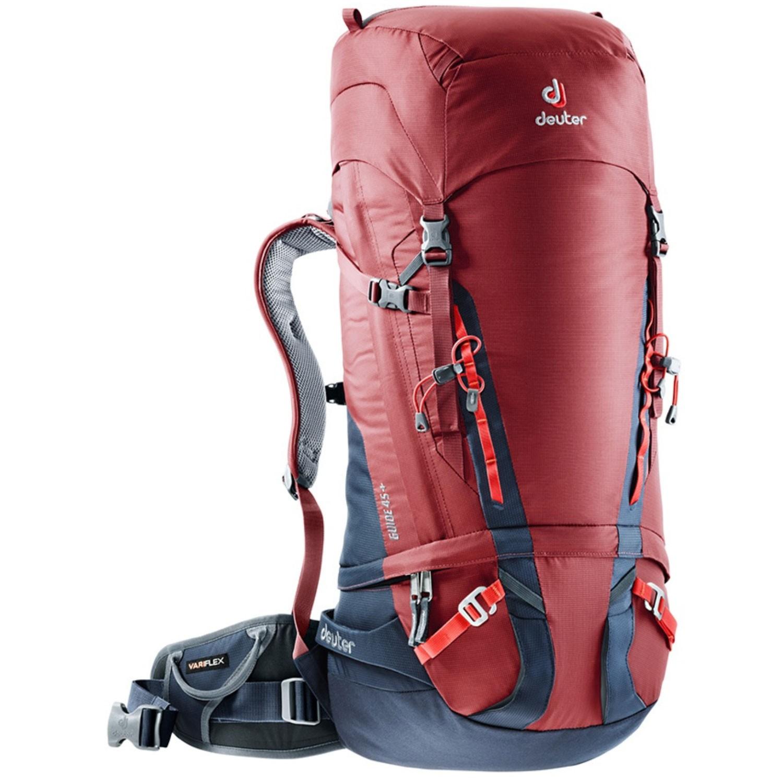 DEUTER - Guide 45+ Alpine Rucksack - Cranberry/Navy