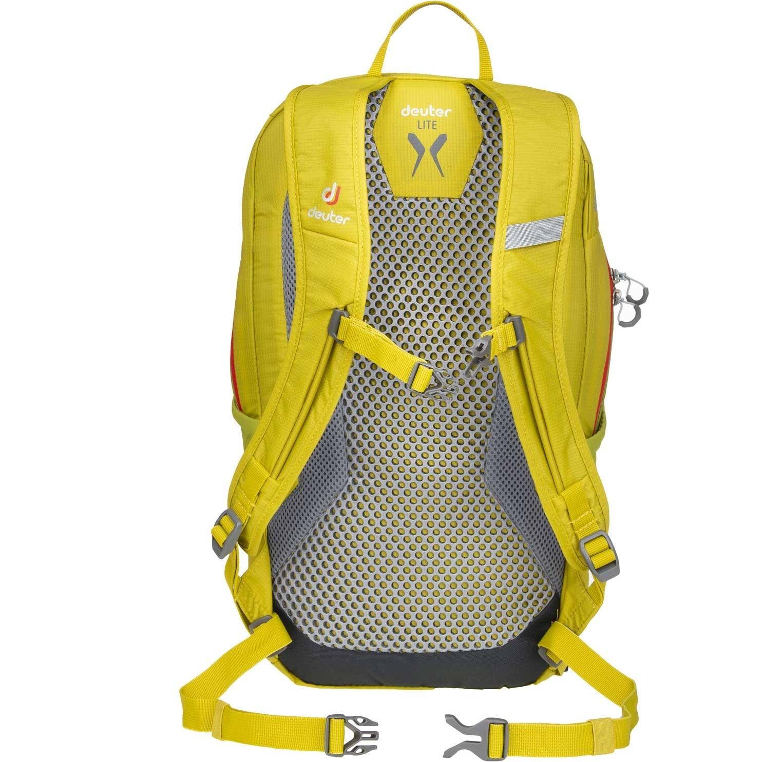 DEUTER - Speed Lite 12 Rucksack - Green Curry/Moss - Back system