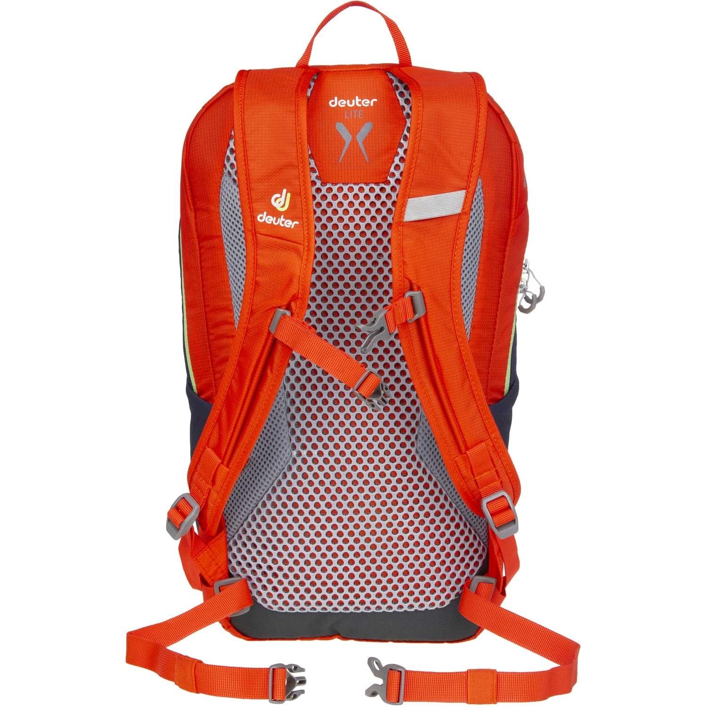 DEUTER - Speed Lite 12 Rucksack - Papaya/Navy - Back system