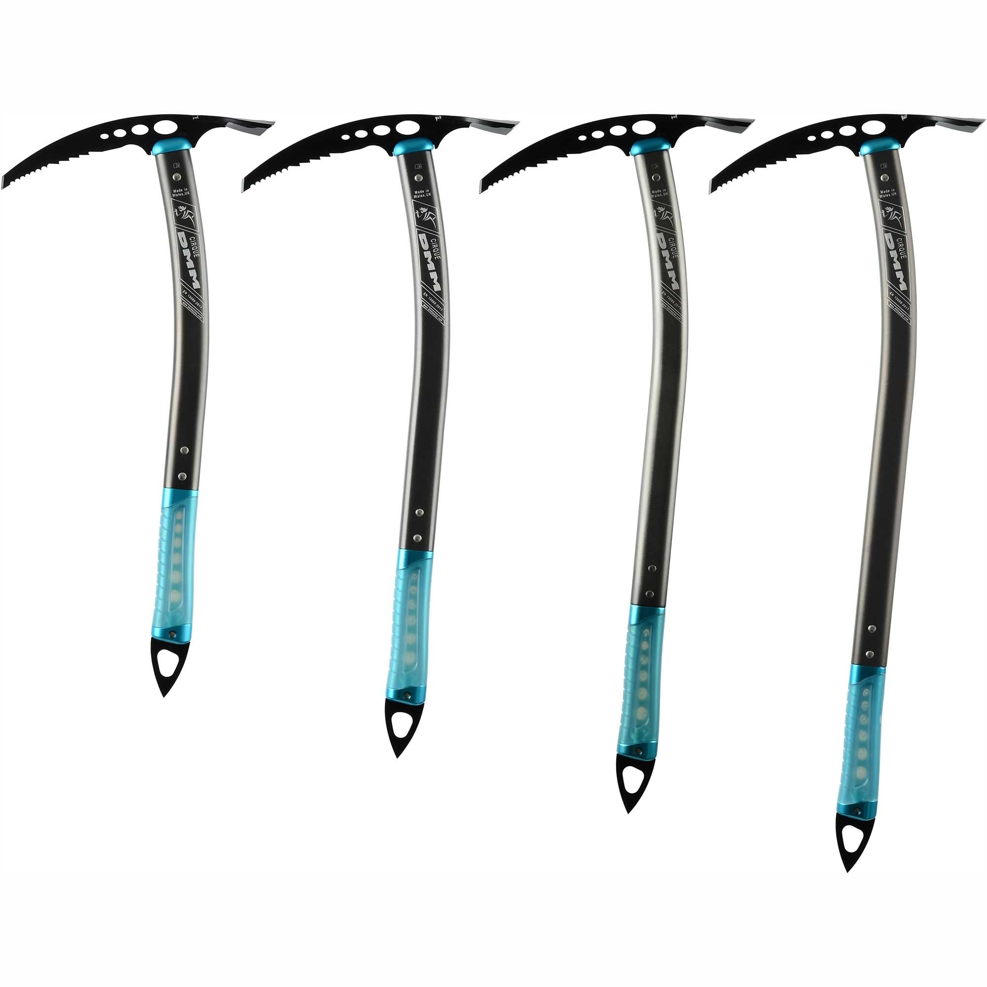 DMM Cirque Ice Axe Lengths (please note these are the old colour)