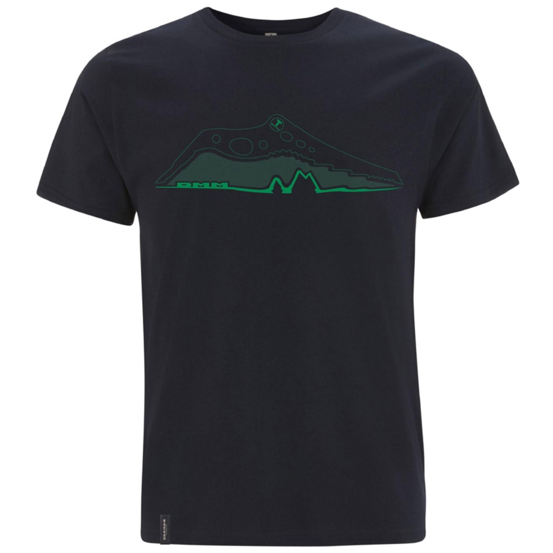 DMM Pick Men's T Shirt - Denim Blue/Green