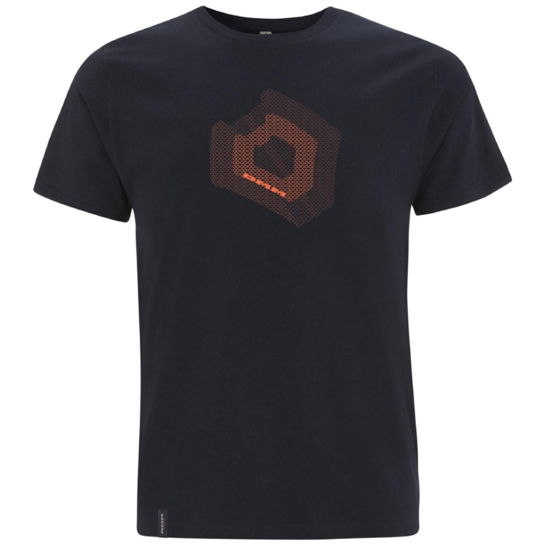 DMM Torque Men's T-Shirt - Denim Blue/Orange