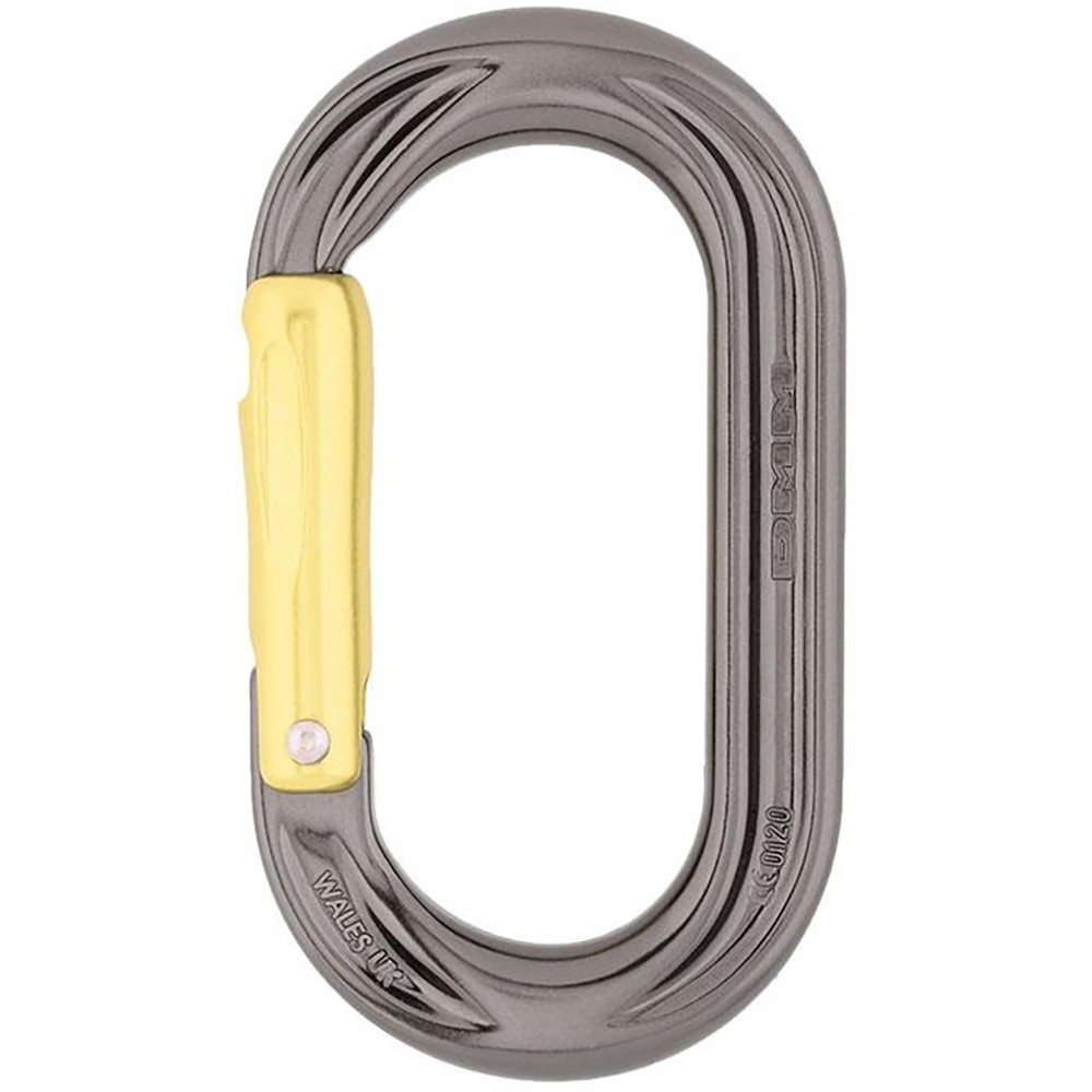DMM PerfectO Straight Gate Oval Karabiner - BLT/Lime