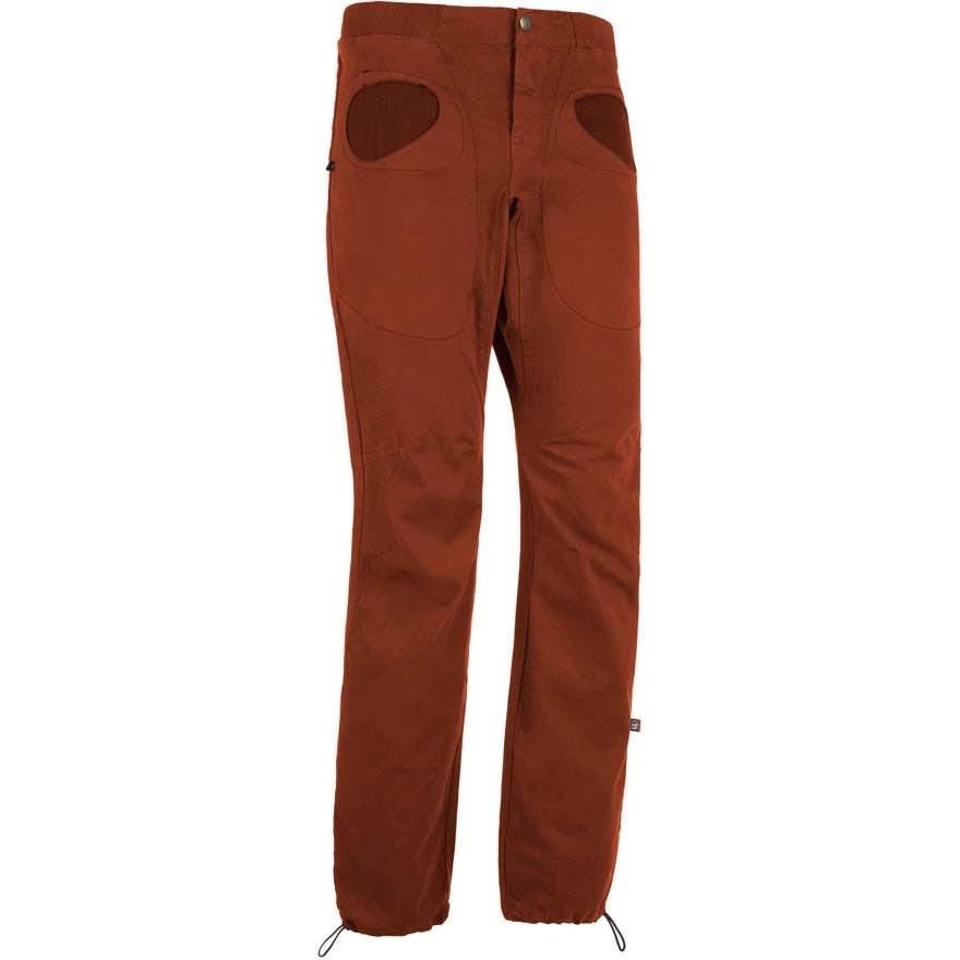 E9 Rondo Slim Climbing Trousers - Brick