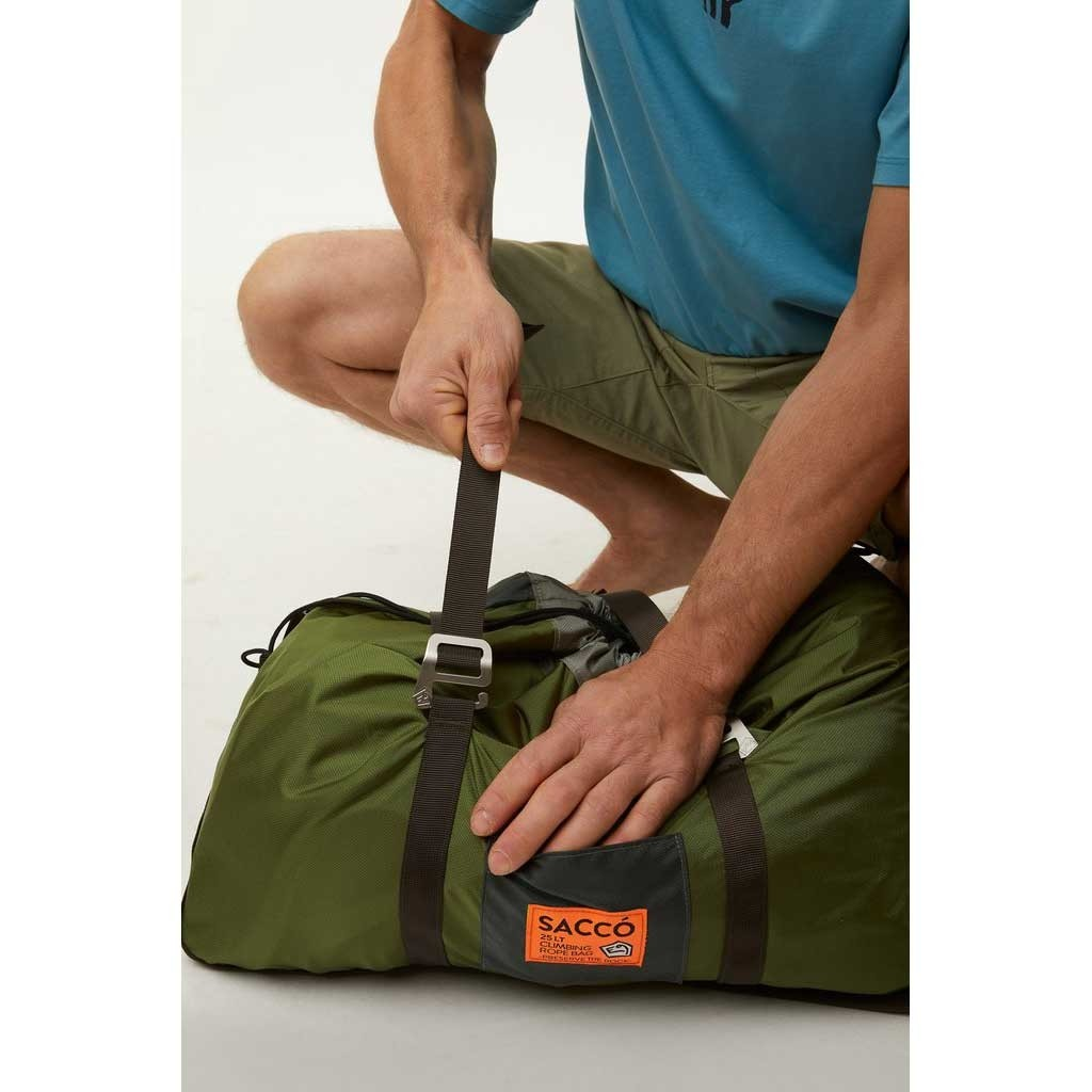 E9 Sacco Rope Bag - Var 1 (Green)