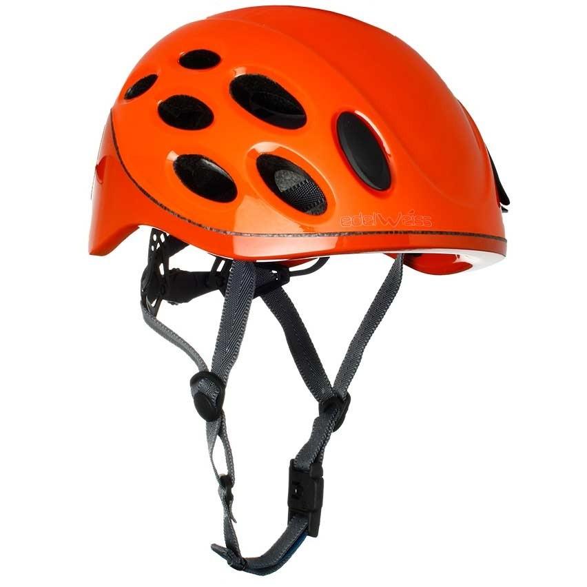 Edelwiss Venturi Climbing Helmet - Orange
