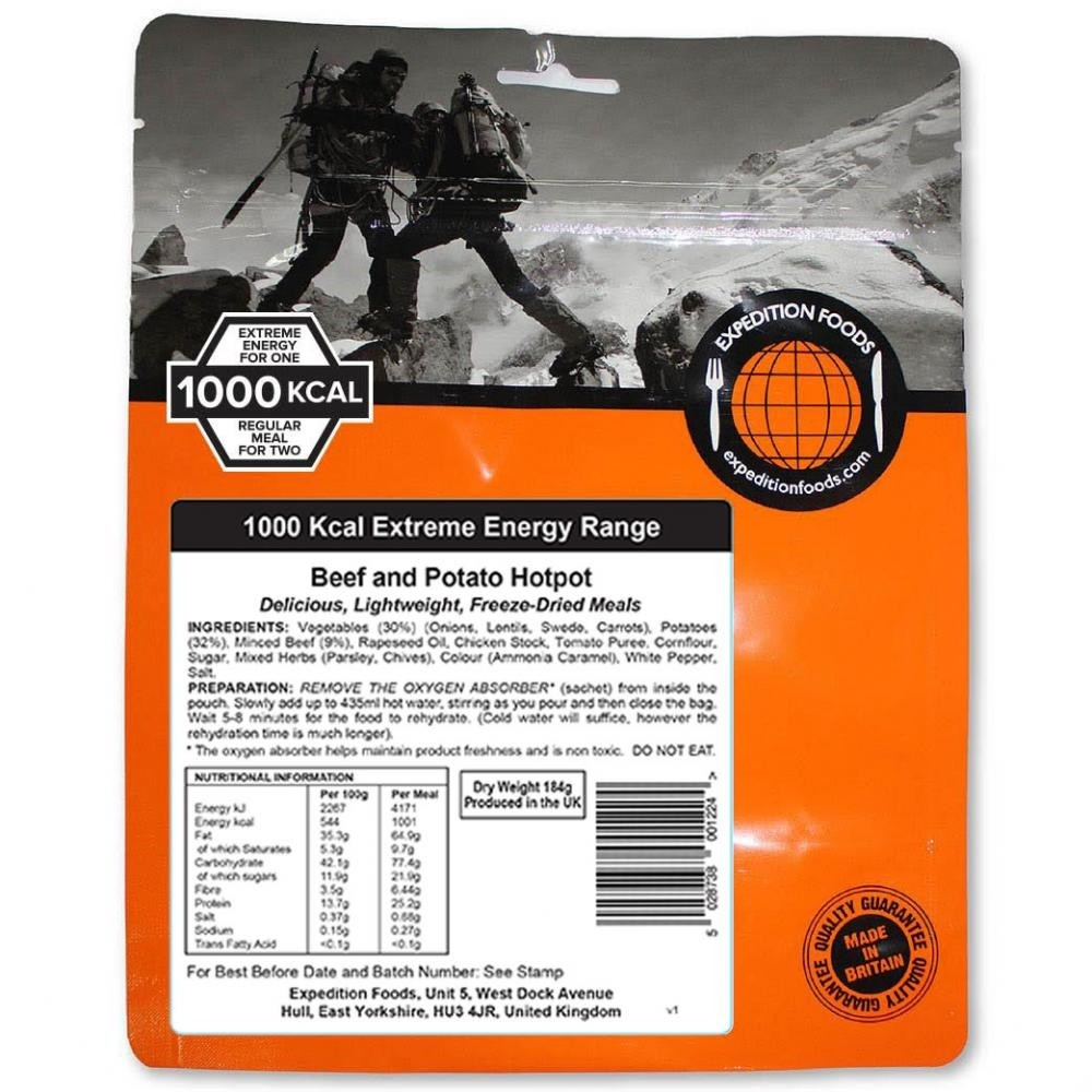 Expedition Foods Beef and Potato Hotpot (1000kcal)