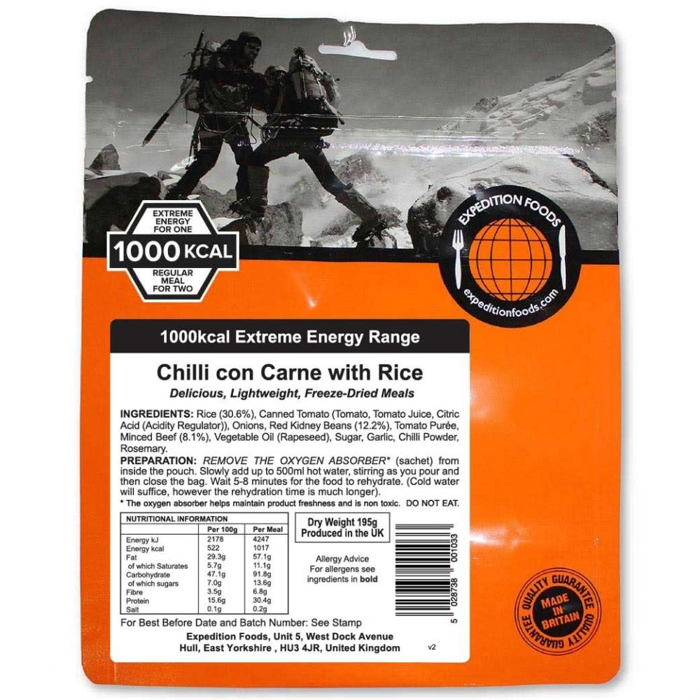 Expedition Foods Chilli con Carne (1000kcal)