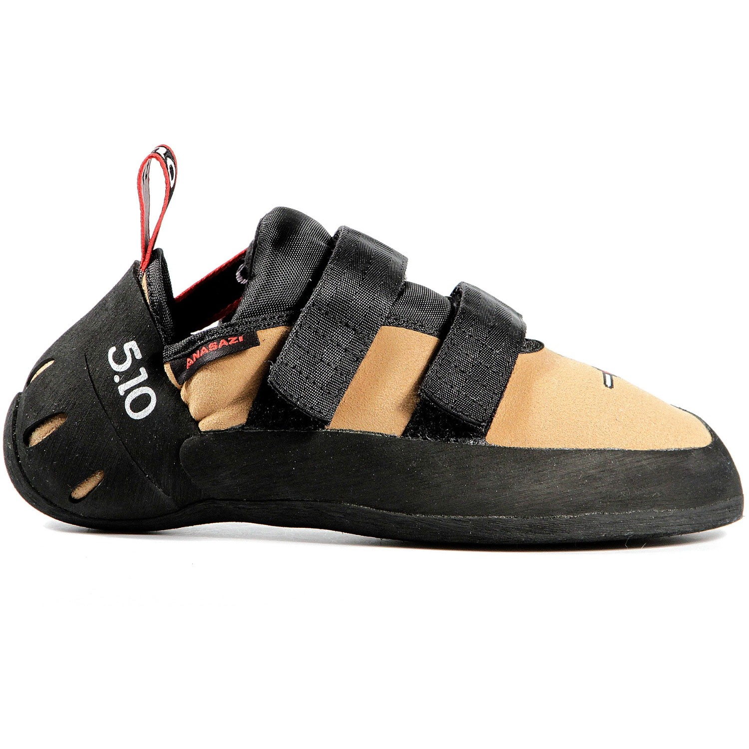 Five.Ten Anasazi Velcro Climbing Shoes - Golden Tan - 1