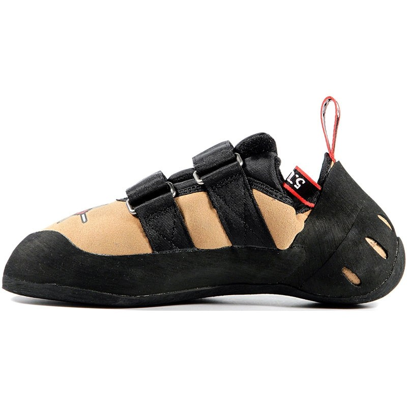 Five.Ten Anasazi Velcro Climbing Shoes - Golden Tan - 2