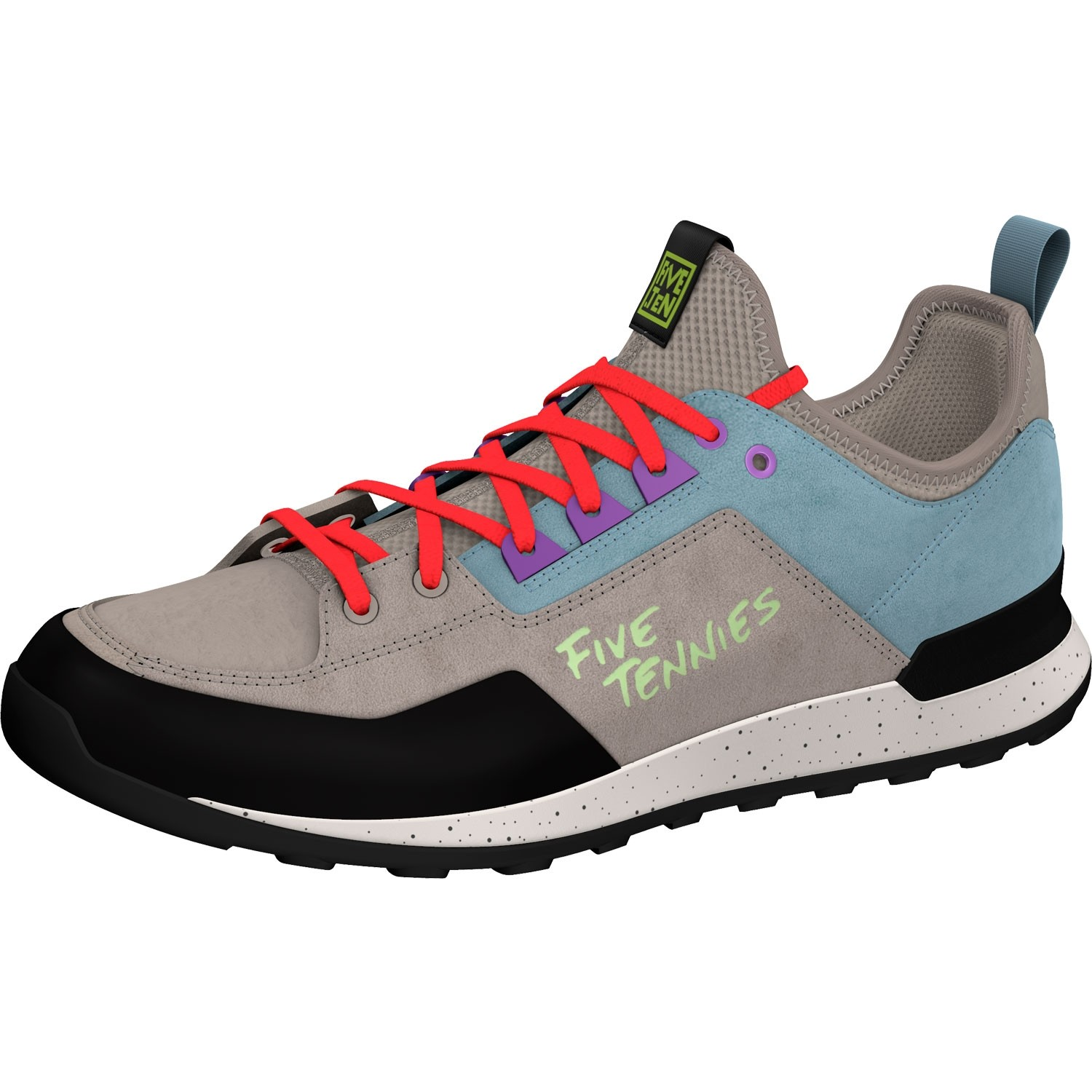 Five Ten Five Tennie Women's Approach Shoe - Light Brown/Ash Grey/Active Purple