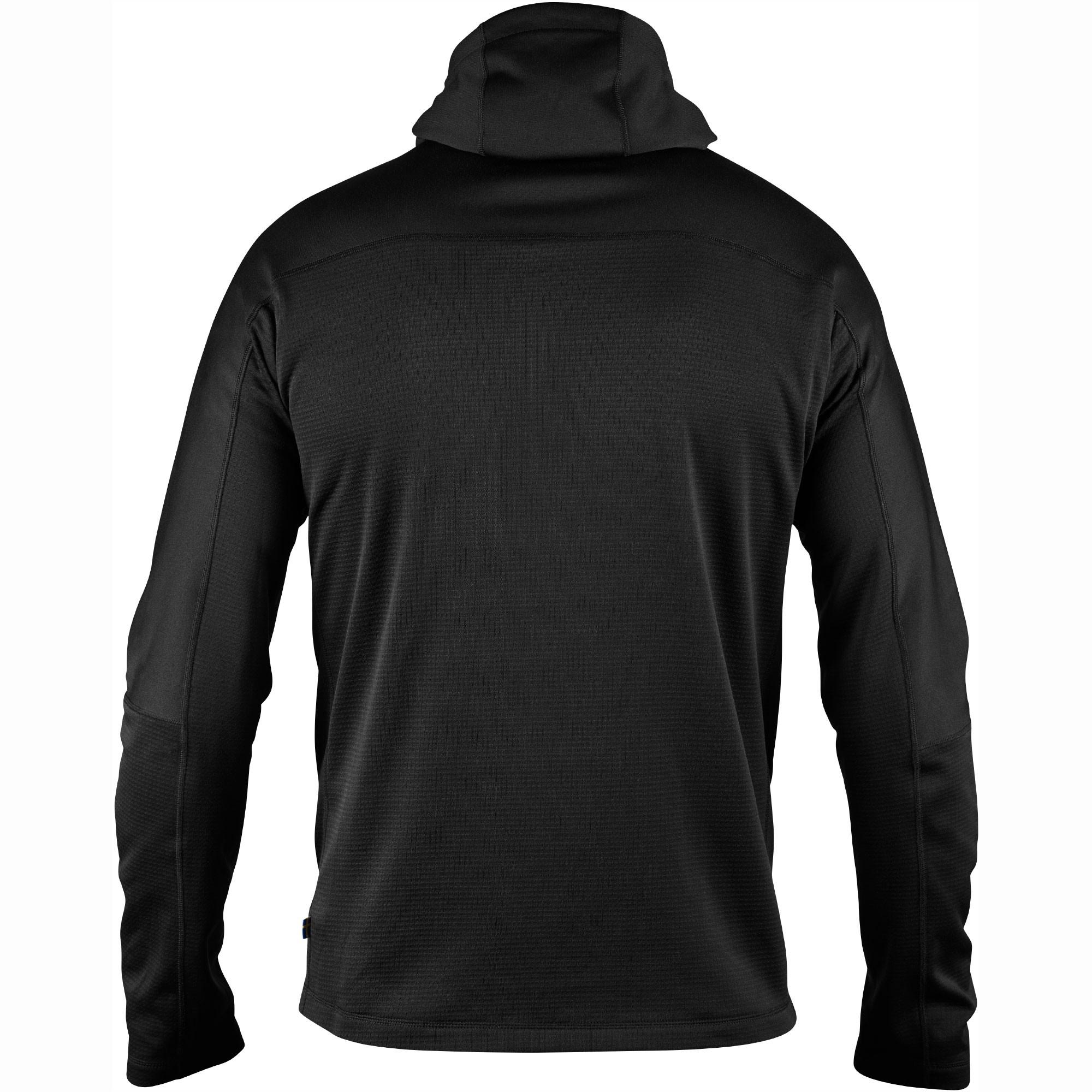 Fjallraven Abisko Trail Fleece 82257 - Black Back