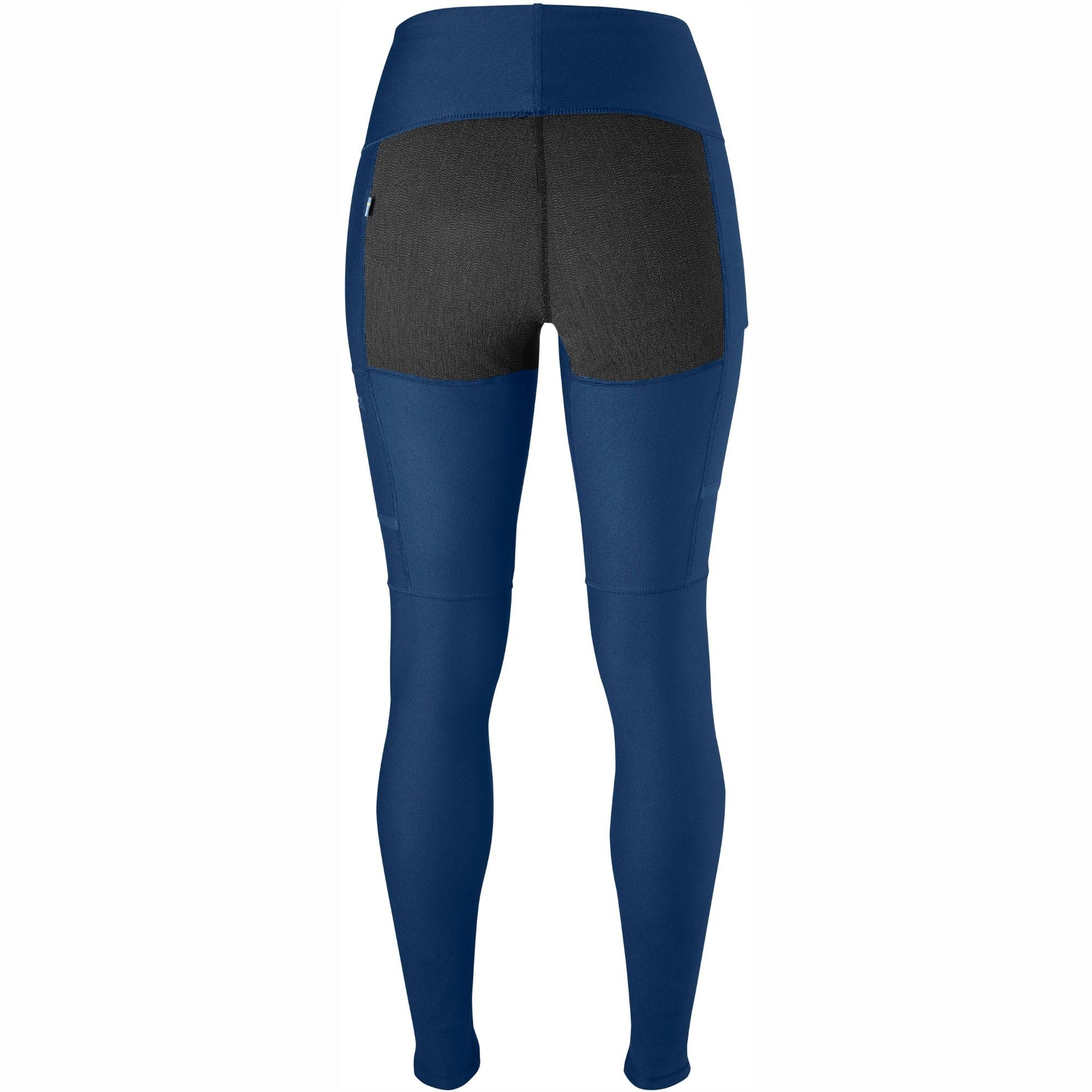 Fjallraven Abisko Women's Trekking Tights - Deep Blue Back