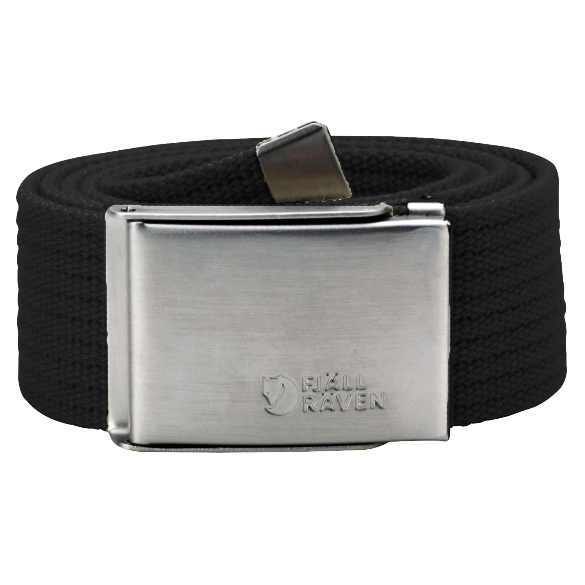 Fjallraven Canvas Belt - Black
