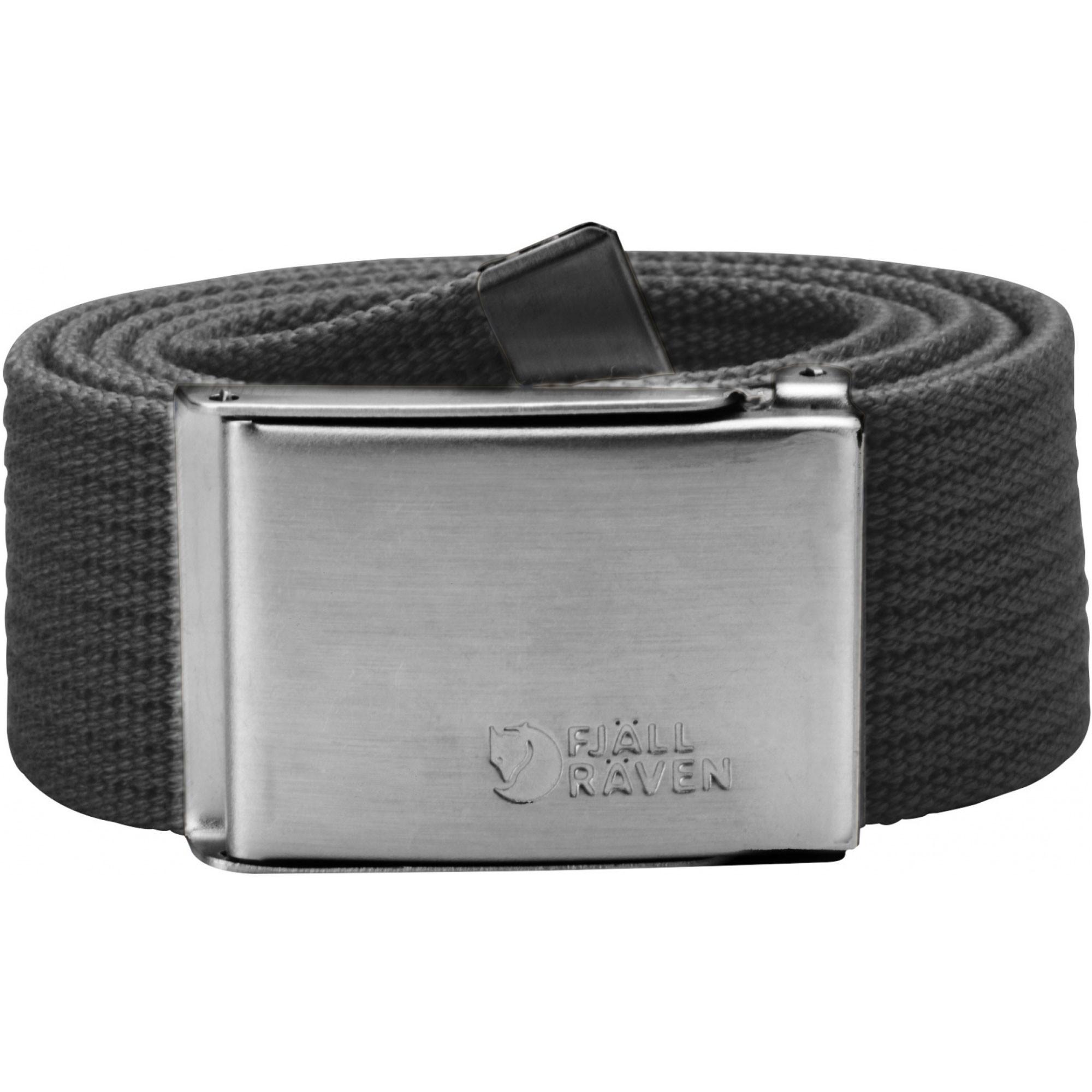 Fjallraven Canvas Belt - Dark Grey