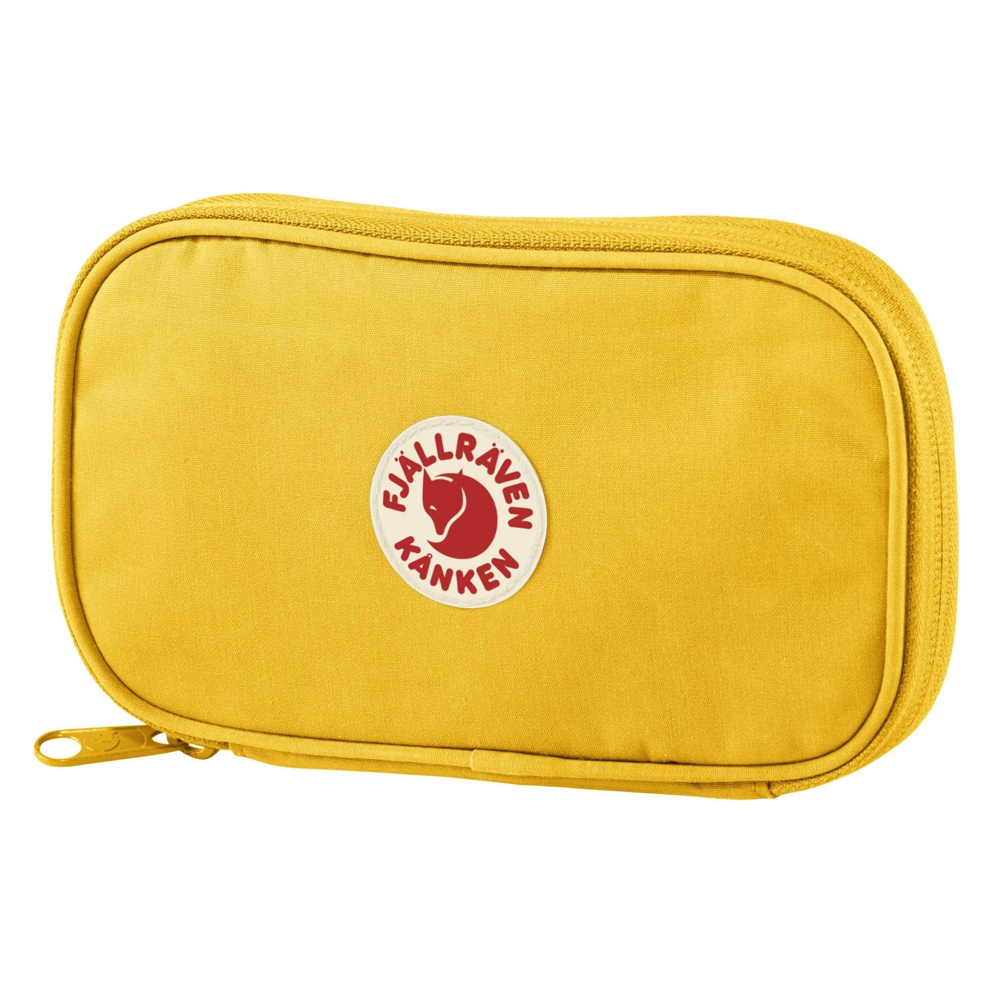Fjallraven Kanken Travel Wallet - Warm Yellow