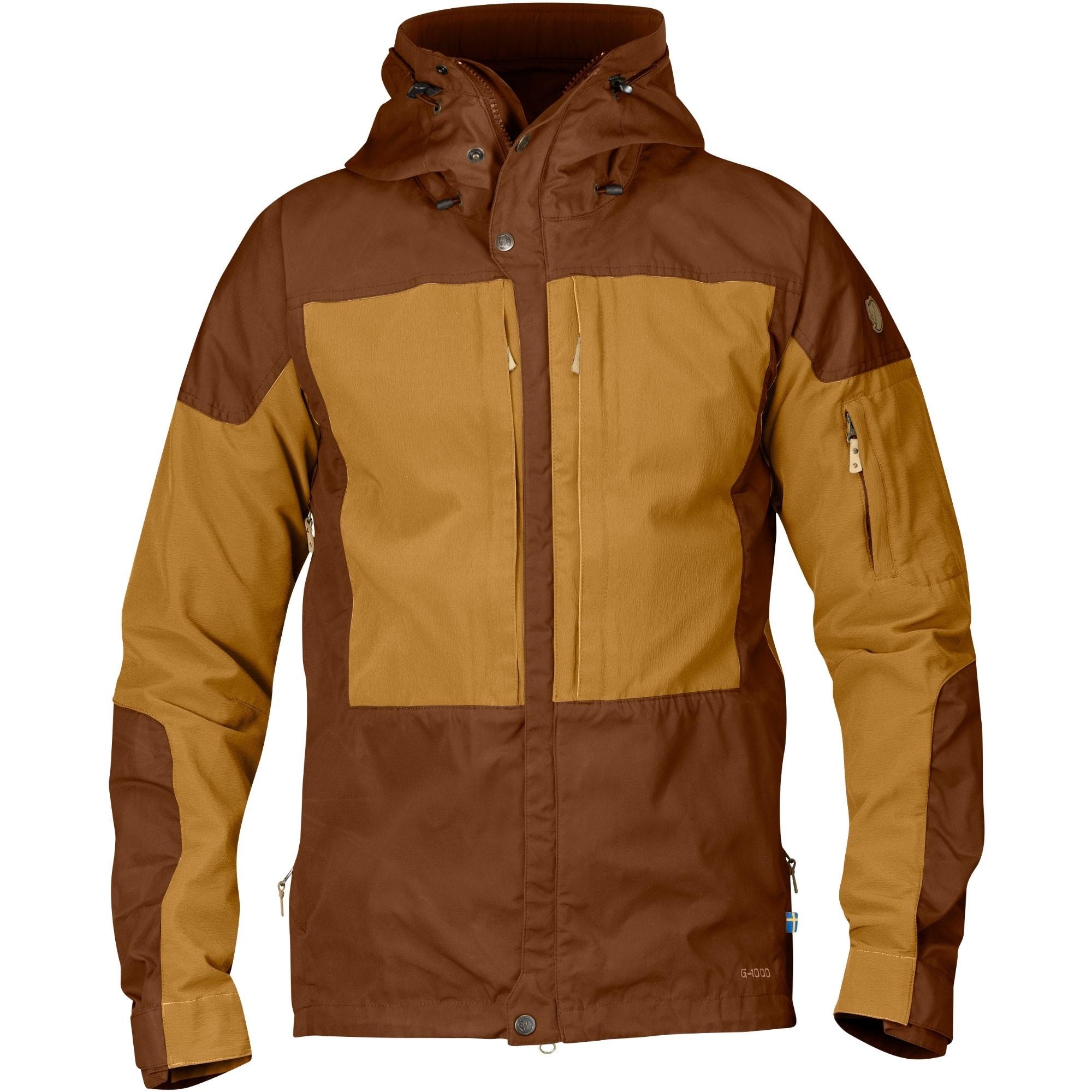 FJALLRAVEN - Keb Men's Jacket - Chestnut/Acorn