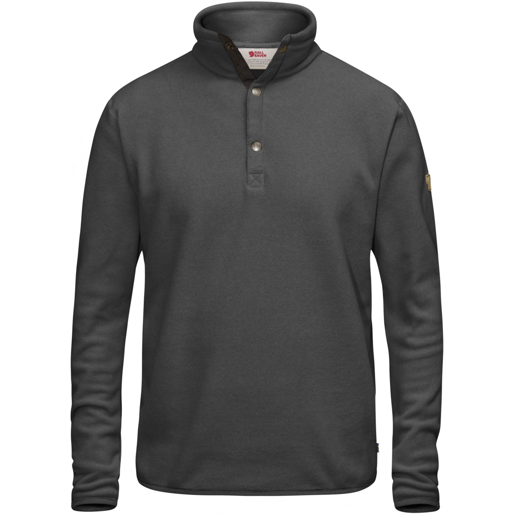 Fjallraven-Ovik-Fleece-Sweater-Dark-Grey-W17