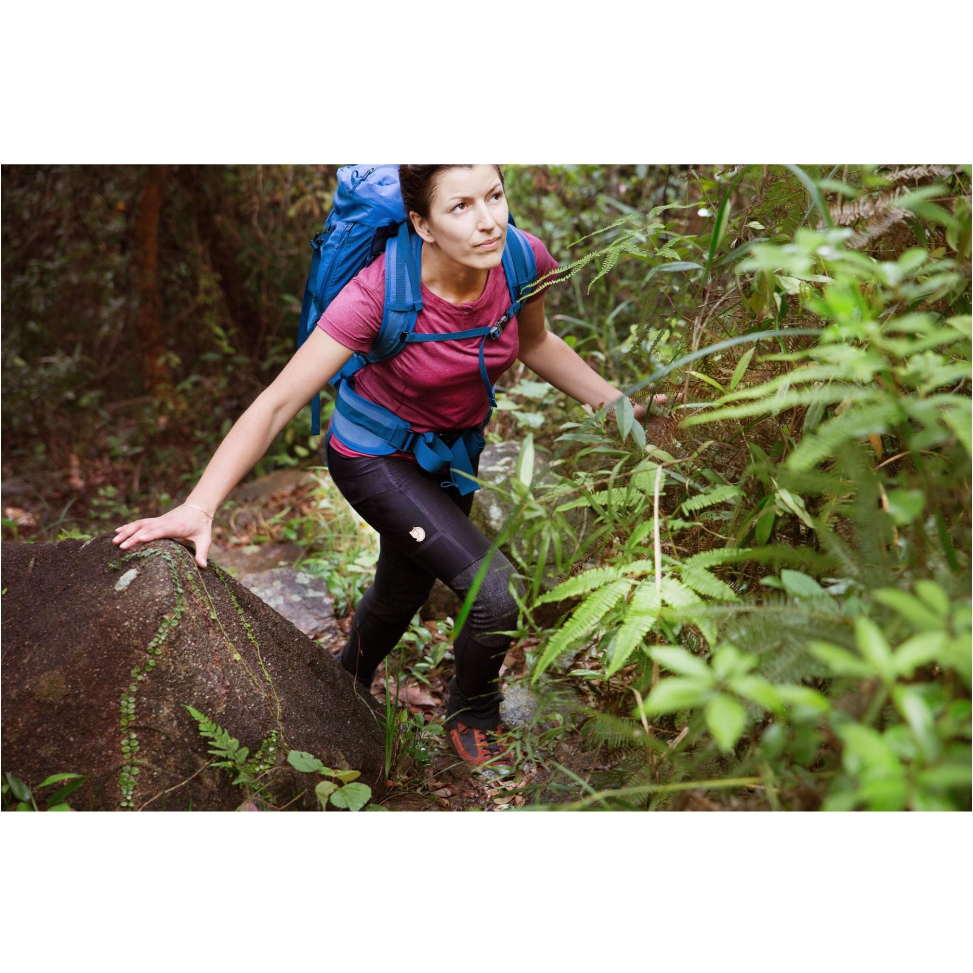 Fjallraven Abisko Women's Trekking Tights - Black