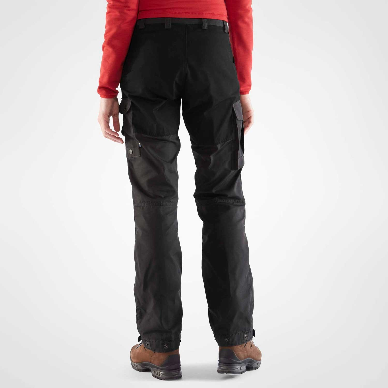 Fjallraven Vidda Pro Women's Trekking Trousers - Dark Grey