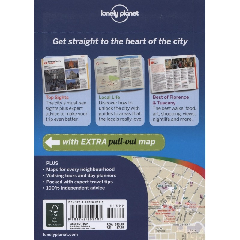 Florence: Lonely Planet Pocket Guide