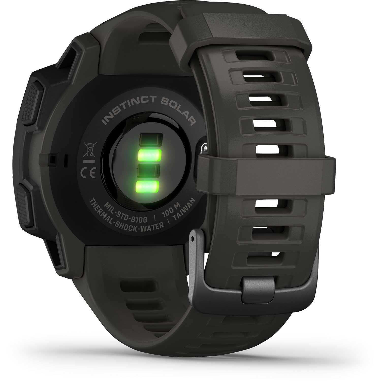 Garmin Instinct Solar GPS Watch - Graphite