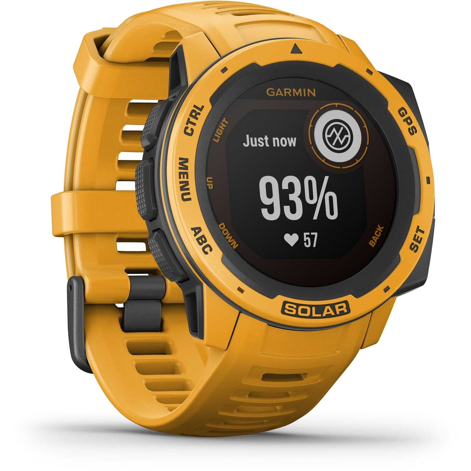 Garmin Instinct Solar GPS Watch - Sunburst