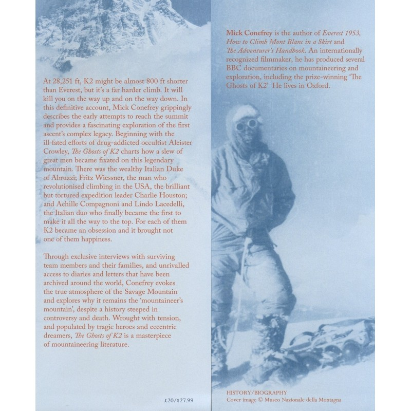 The Ghosts of K2: The Epic Saga of the First Ascent by Books And Maps