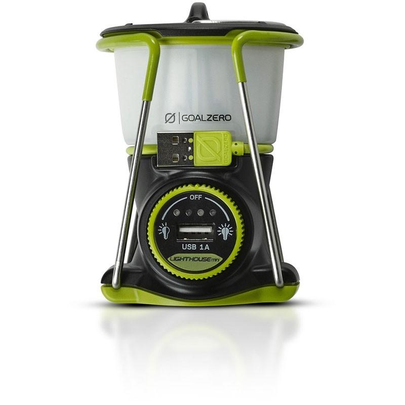 Goal Zero Mini Lighthouse. Battery & USB Output