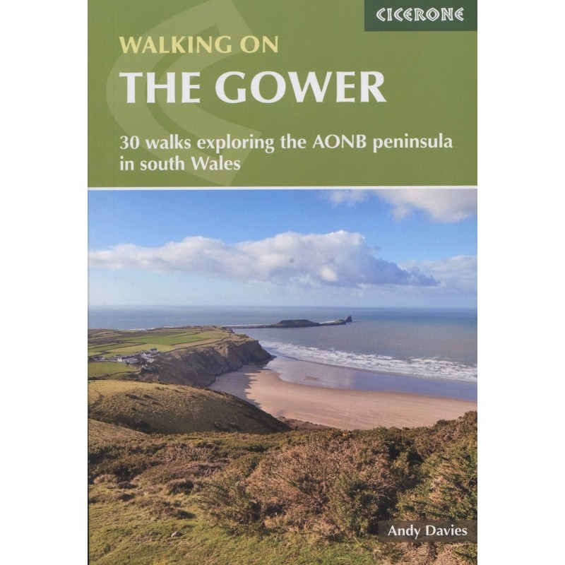 Walking on the Gower by Cicerone