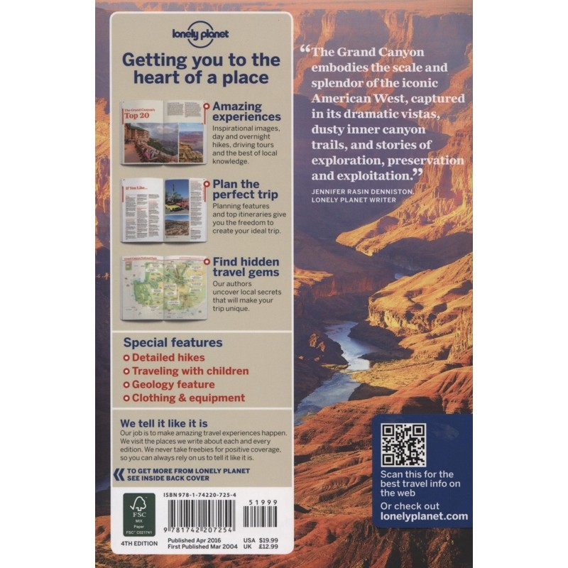 Grand Canyon National Park: Lonely Planet Travel Guide