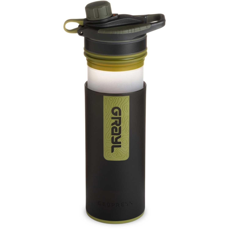 Grayl Geopress Water Filter - Camo Black
