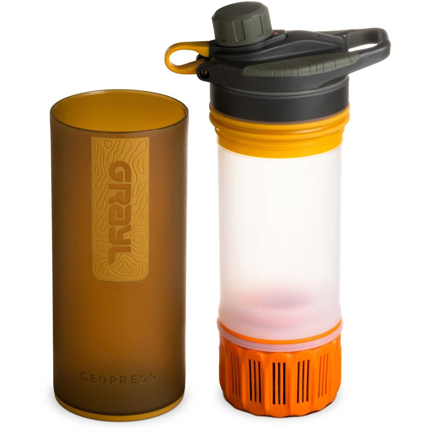 Grayl Geopress Water Filter - Coyote Amber