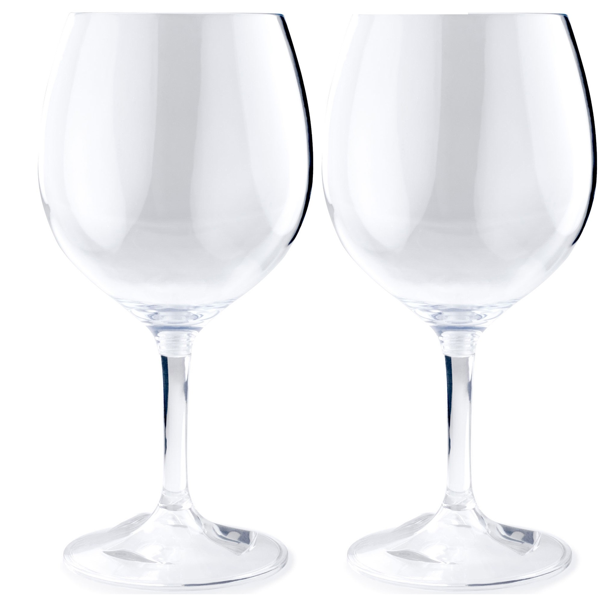 GSI Glacier Nesting Red Wine Glass 445ml 2 pack
