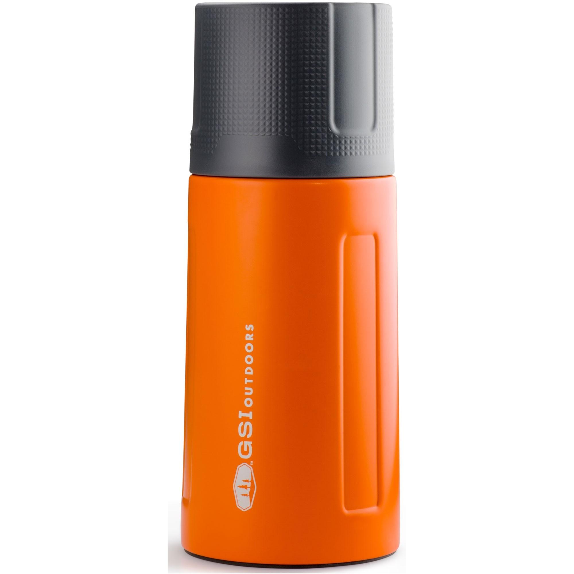 GSI-Glacier-Stainless-Vacuum-Bottle-0.5L-Orange