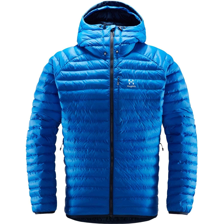 Haglofs Essens Mimic Hood Insulated Jacket - Men's - Storm Blue/Tarn Blue