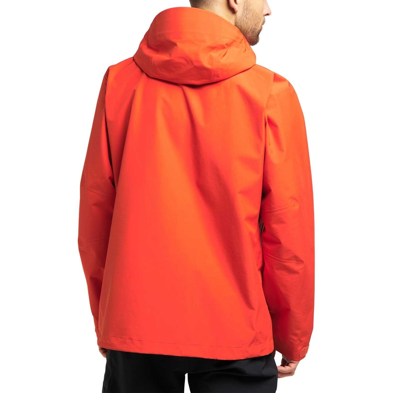 Haglofs Roc GTX Waterproof Jacket - Men's - Habanero