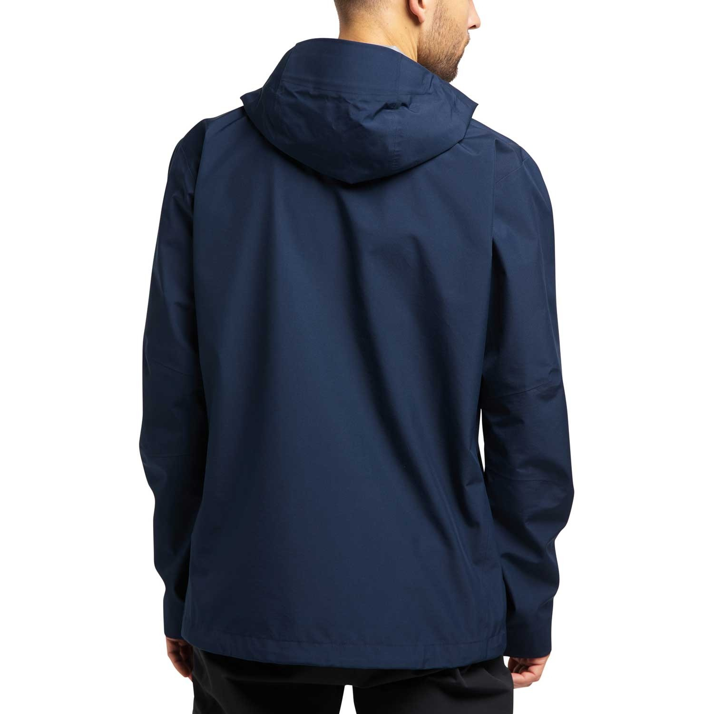 Haglofs Roc GTX Waterproof Jacket - Men's - Tarn Blue