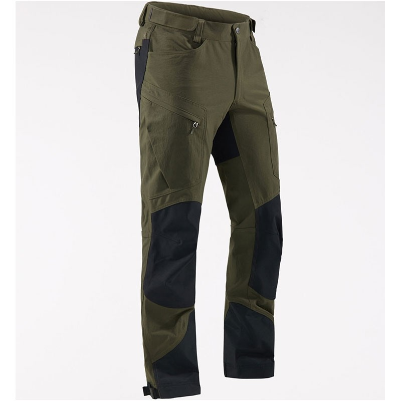 Haglofs Rugged Mountain Pants - Men's - Deep Woods/True Black