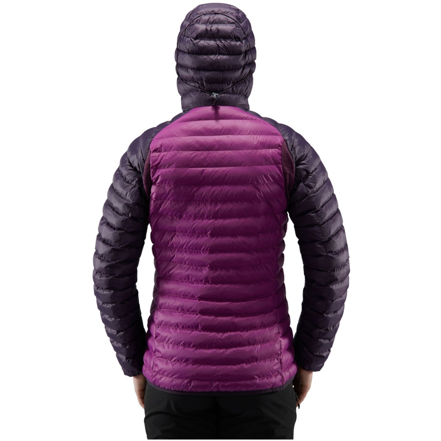 Haglofs Essens Mimic Hood Women's Jacket - Lilac/Acai Berry