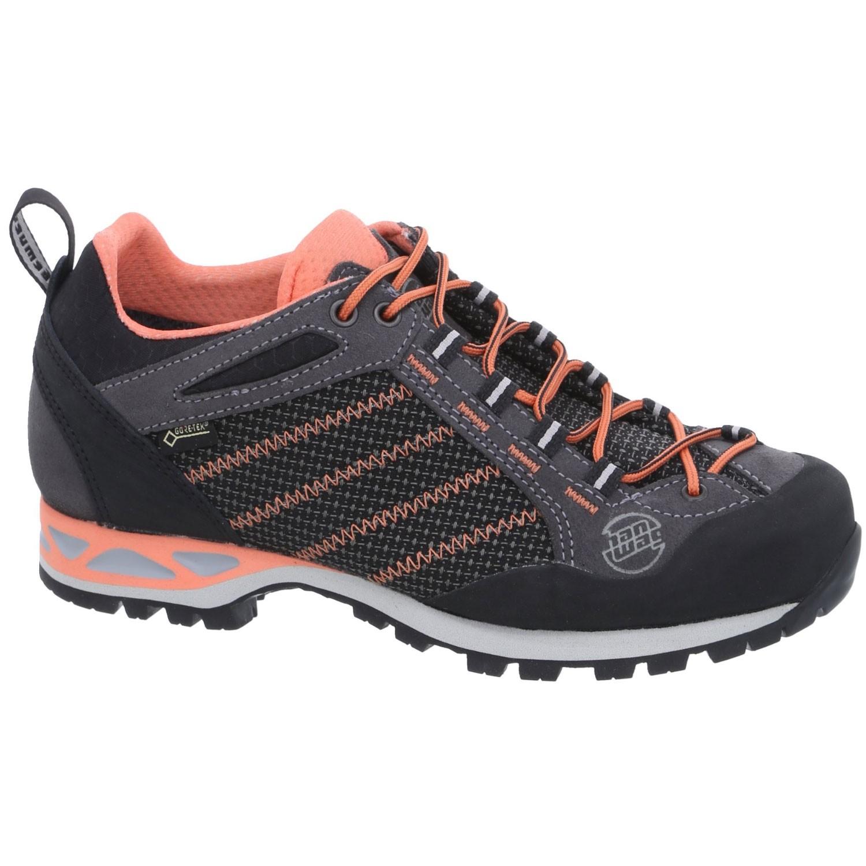 Hanwag Womens Makra Low Women's Approach-Shoe - Asphalt/Orink