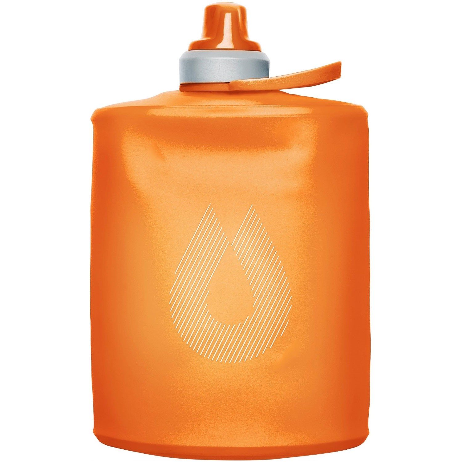Hydrapak Stow 500ml Collapsible Bottle - Mojave Orange