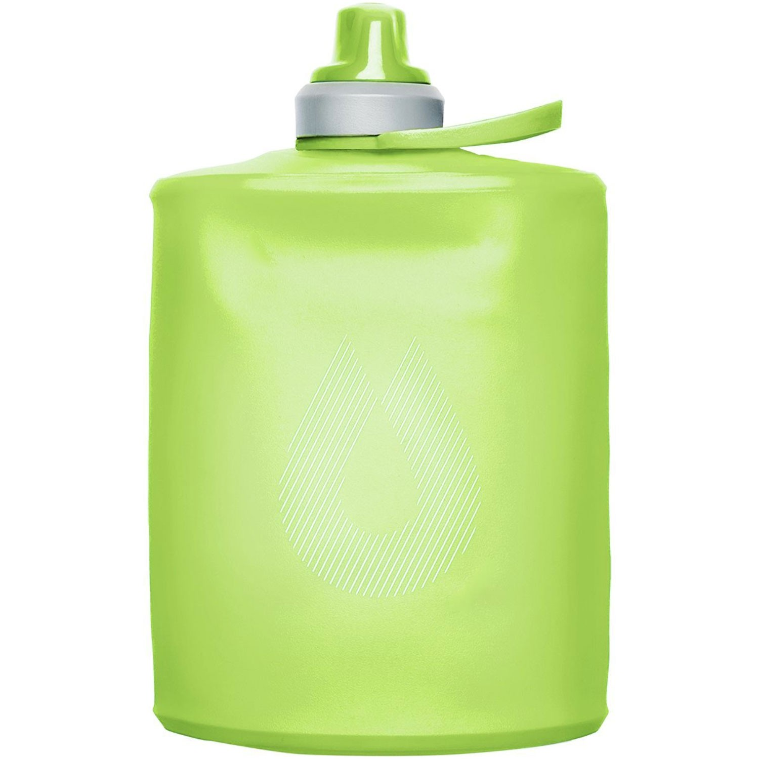 Hydrapak Stow 500ml Collapsible Bottle - Sequoia Green