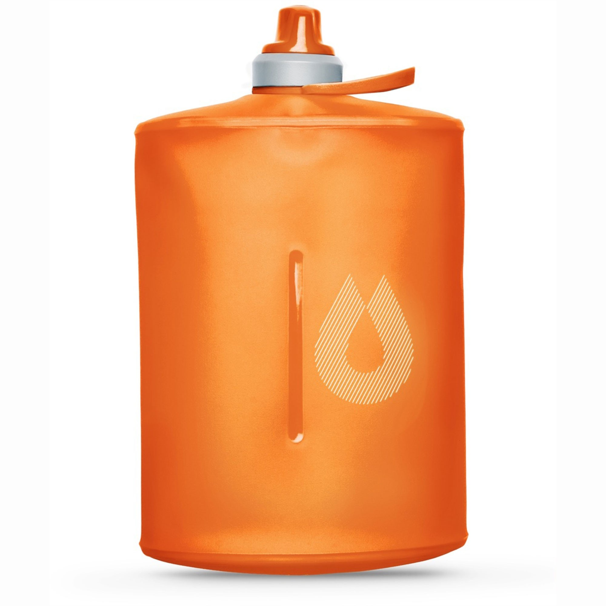 Hydrapak Stow 1L Collapsible Bottle - Mojave Orange